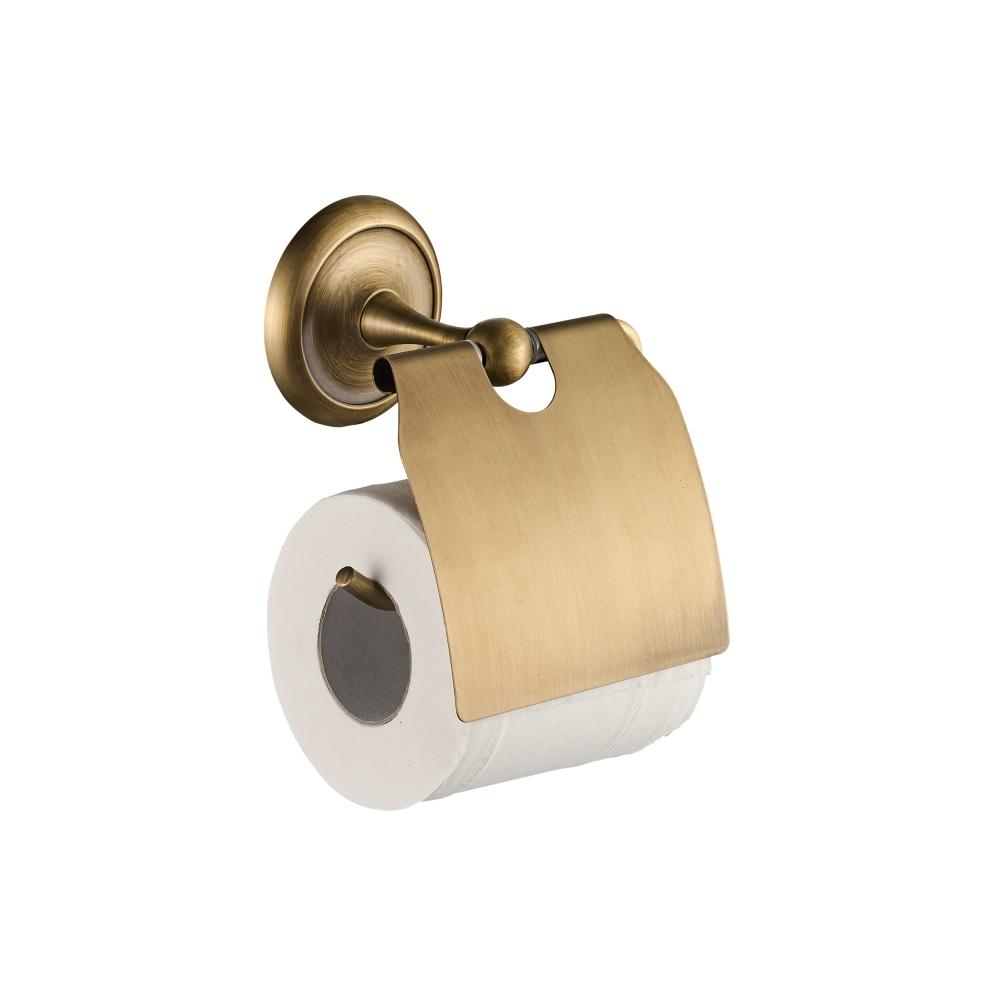 Suport hartie igienica CasaBlanca EPOQUE AEP15, finisaj bronz satinat