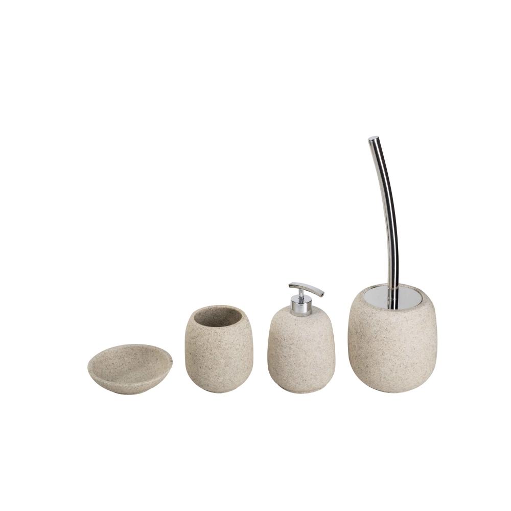 Set de accesorii pentru baie Metaform AFRA Sand