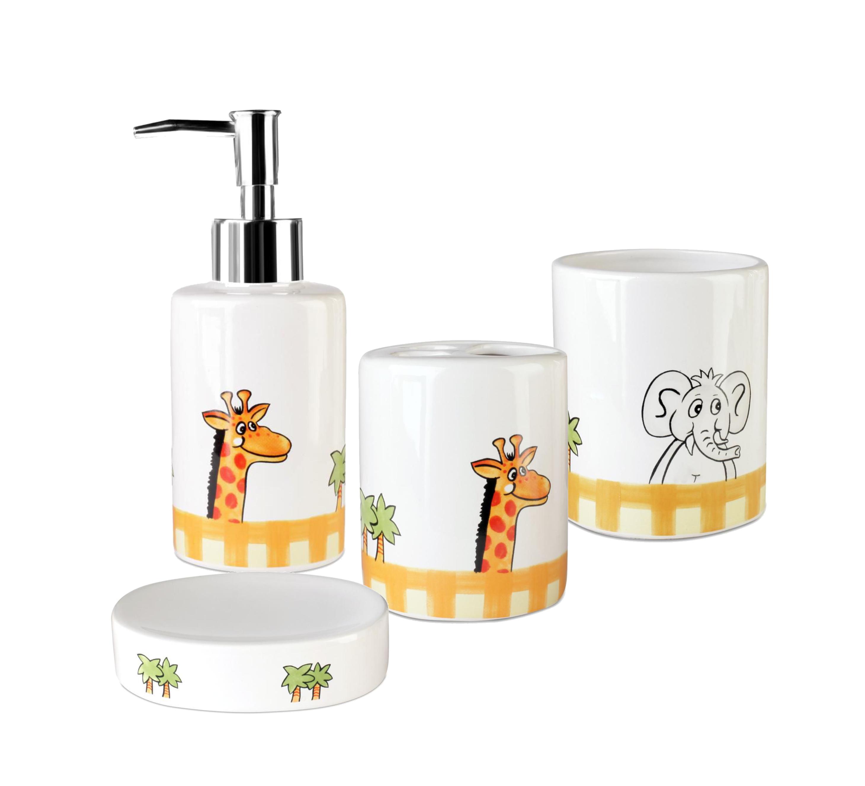 Set accesorii de baie pentru copii AWD AFRYKA