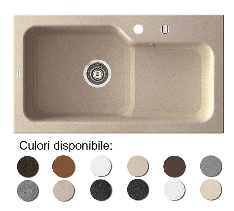 Chiuveta Bucatarie Granit Compozit Anticalcar Cuva Picurator Adanc Imagine