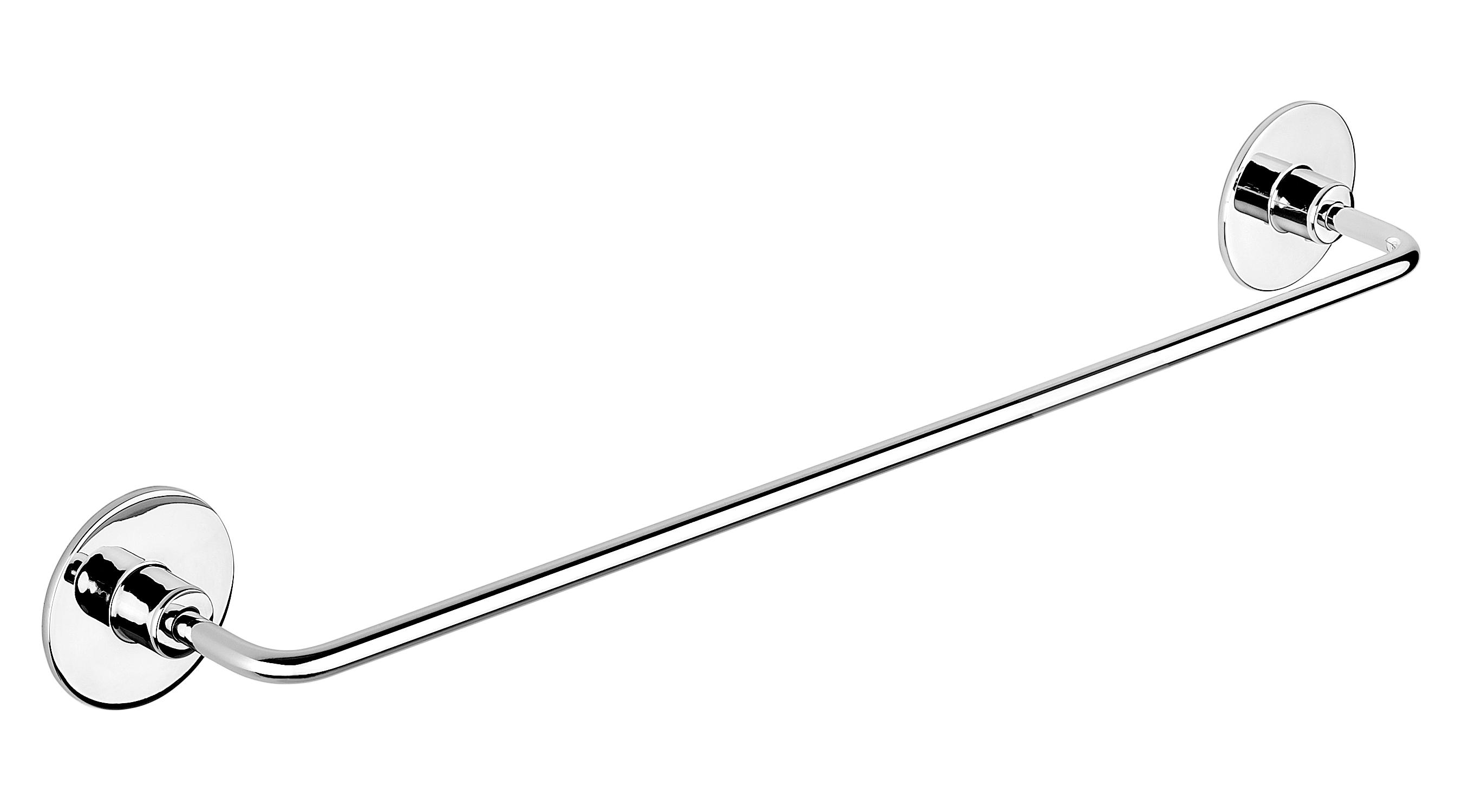 Suport prosop cu montare fara gauri 40 cm CasaBlanca WIND C63 imagine