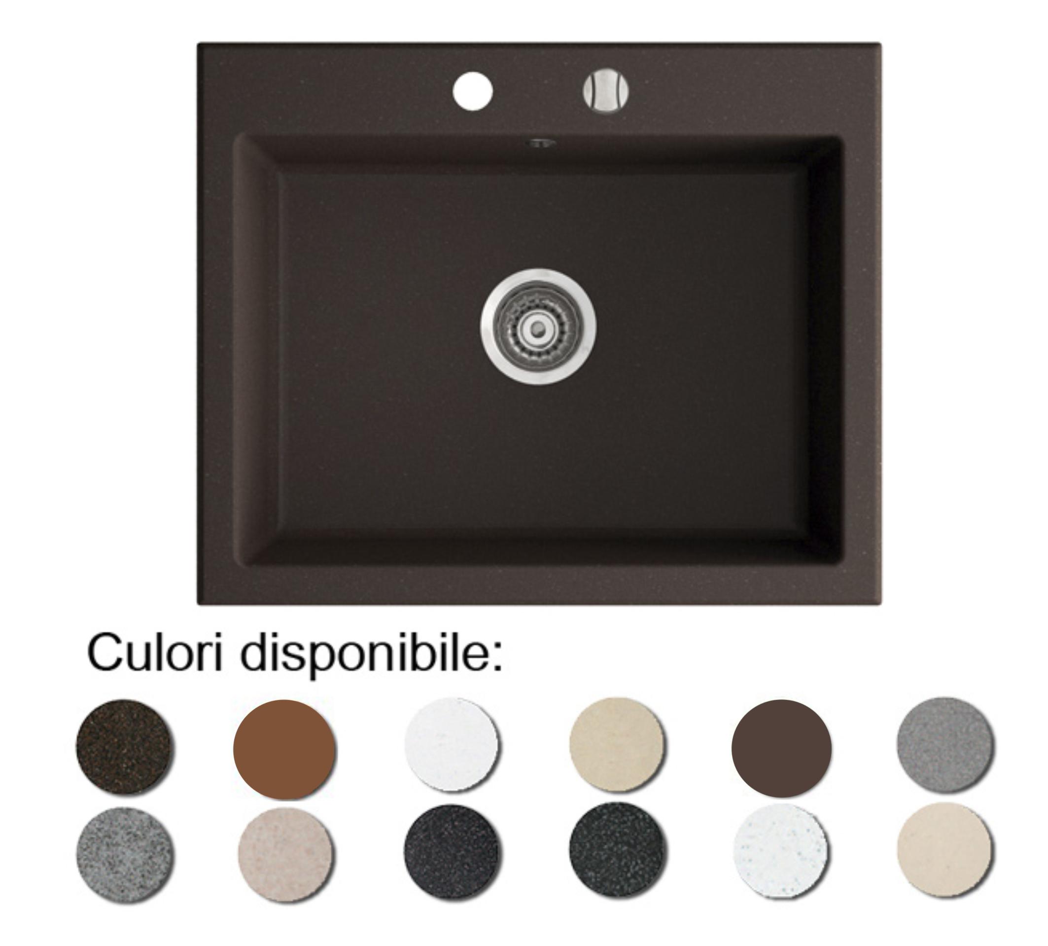 Chiuveta Bucatarie Granit Compozit Anticalcar 1 Cu