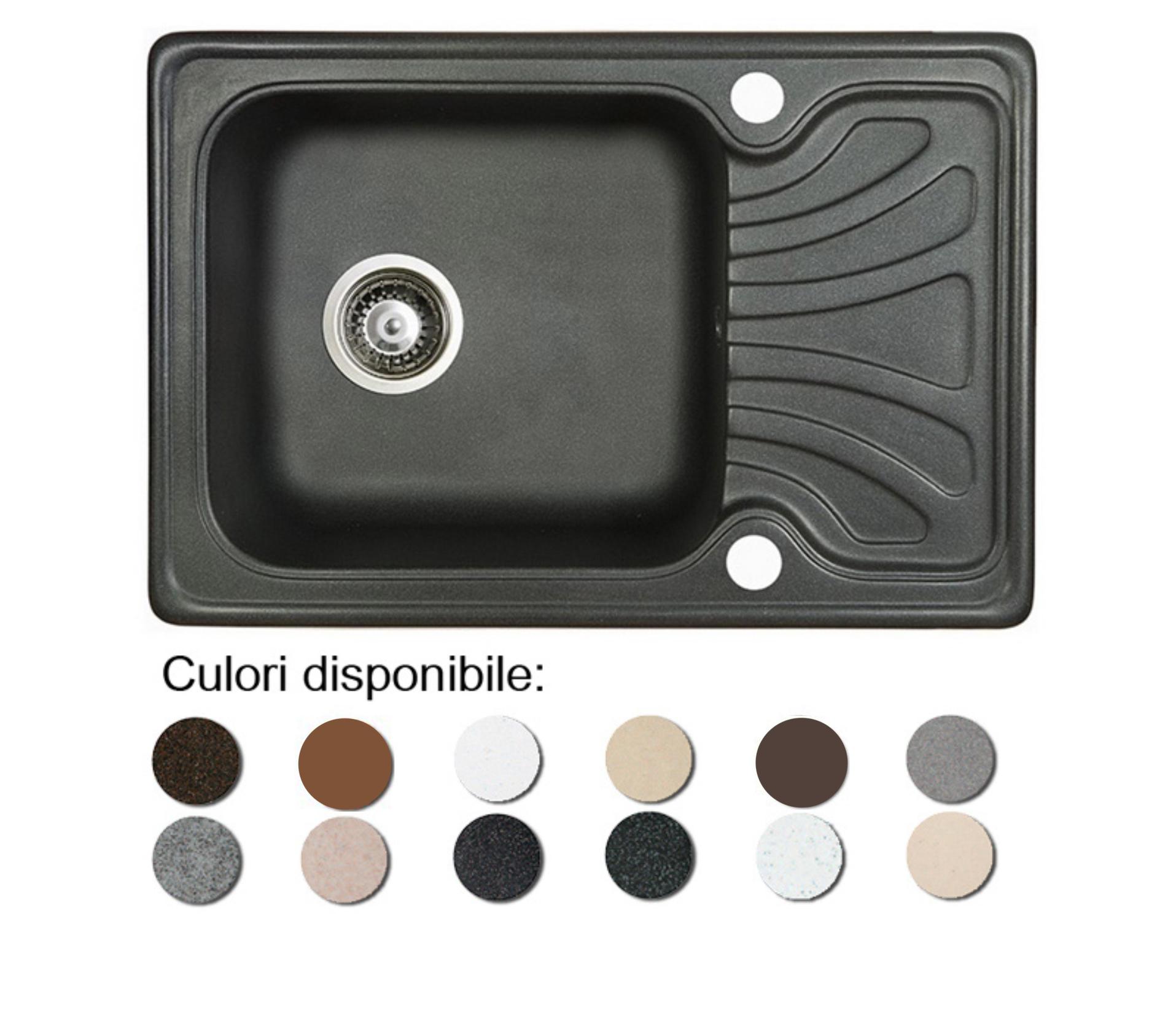 Chiuveta Bucatarie Granit Compozit Anticalcar Cuva Picurator Mic