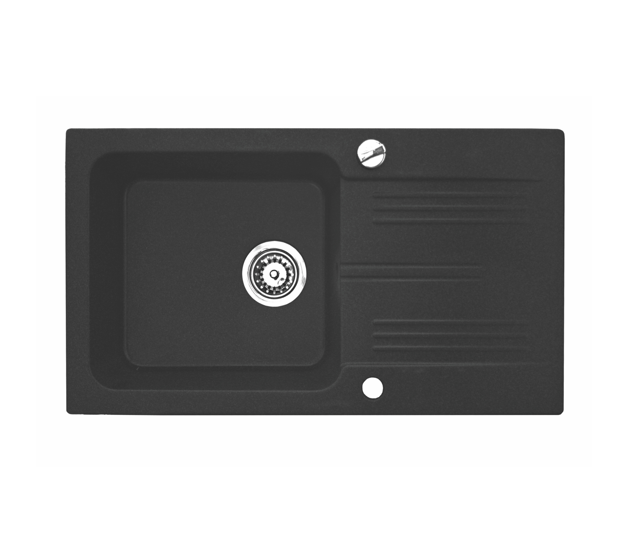 Chiuveta Bucatarie Granit Compozit Cuva Picurator Negru Chiuvete Ilustratie