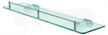Polita (etajera) de sticla 50cm CasaBlanca DELUXE 091041