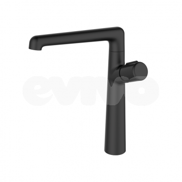Baterie sanitara baie/bucatarie Laveo PRETTO Negru