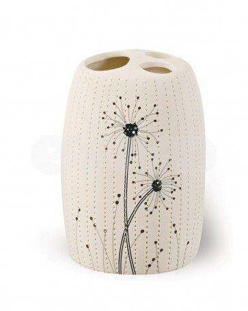 Pahar pentru periute de dinti AWD VENTO, ceramica
