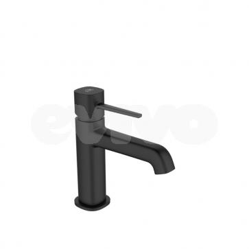Baterie lavoar monocomanda Laveo POLLA BAP_722D, negru satinat
