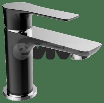 Baterie de lavoar baie, culoare neagra, CasaBlanca LAVEO NEGRU BLV2-N. Design modern in baie.