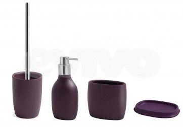 Set de accesorii pentru baie AWD BLOME Indigo