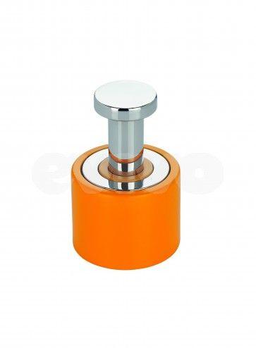 Cuier simplu baie Metaform ENJOY Colour 105A11111 portocaliu