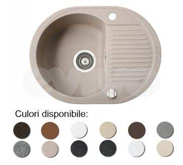 Chiuveta bucatarie granit compozit anticalcar 1 cuva si un picurator mic DURO