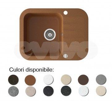 Chiuveta bucatarie granit compozit anticalcar 1 cuva si un picurator mic IGNIS