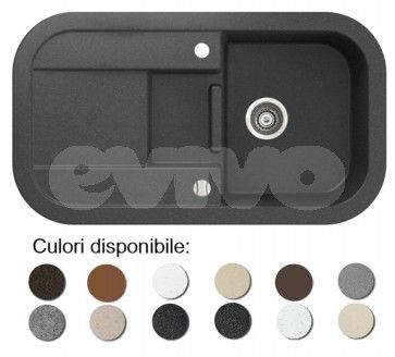 Chiuveta bucatarie granit compozit anticalcar 1 cuva si un picurator adanc LAVER