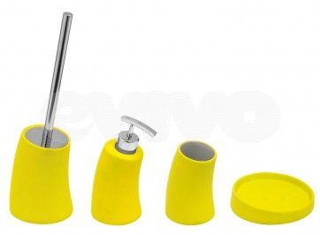 Set de accesorii pentru baie Metaform MOBI Acid Green