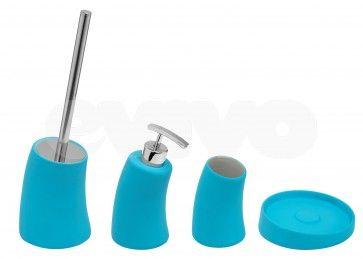 Set de accesorii pentru baie Metaform MOBI Light Blue