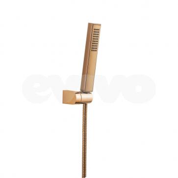 Kit de dus cu 1 functie Laveo POLLA, auriu rose