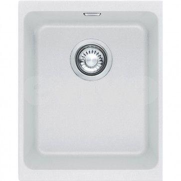 Chiuveta de bucatarie Fragranit Franke Kubus Sottotop KBG 110-34 alb