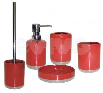 Set de accesorii pentru baie AWD SCARLET