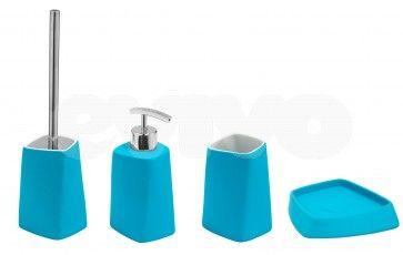 Set de accesorii pentru baie Metaform WALLI Light Blue