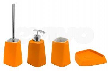Set de accesorii pentru baie Metaform WALLI Orange