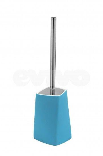 Suport si perie WC Metaform WALLI Light Blue
