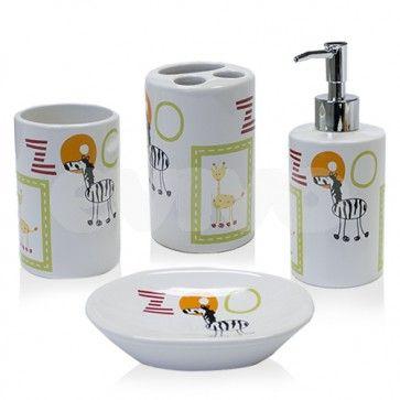 Set accesorii baie copii AWD ZOO