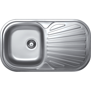 Chiuveta de bucatarie inox linen anticalcar 1 cuva Kromevye EC152 R