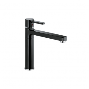 Baterie sanitară baie/bucătărie KLUDI Zenta Black & White DN10 NEGRU