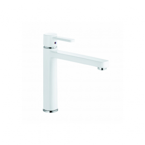 Baterie sanitară baie/bucătărie KLUDI Zenta Black & White DN10 ALB