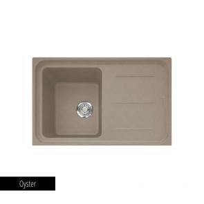 Chiuvetă bucătărie 1 cuvă și picurător Fragranit Franke IMPACT IMG 611