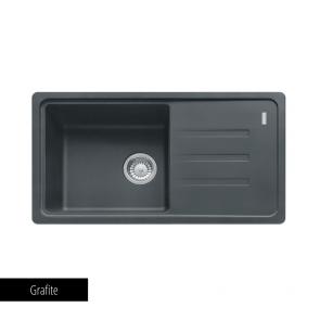 Pachet Franke Chiuveta bucatarie Fragranite MALTA BSG 611-78 + Baterie chiuveta bucatarie Pola + Dozator detergent Grafite