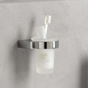 Suport pahar de baie cu montare pe perete KLUDI A-Xes