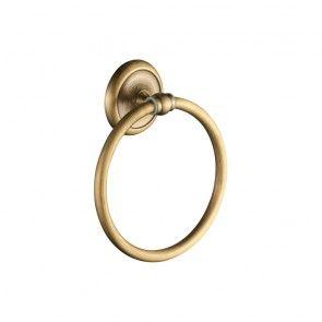 Suport prosop inelar 16 cm CasaBlanca EPOQUE AEP11, finisaj bronz satinat