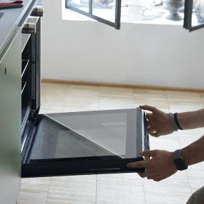 Cuptor electric incorporabil Franke Smart INOX FSM 82 H XS, negru