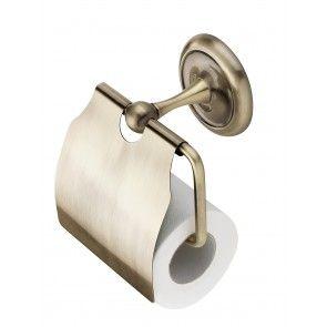 Suport hartie igienica CasaBlanca RETRO ACR15, finisaj bronz lucios