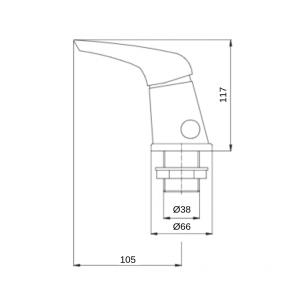 Baterie cada 3 gauri CasaBlanca MAX BMX11A