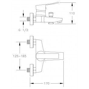 Baterie cada CasaBlanca MADERA BMD11
