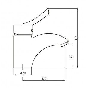 Baterie sanitara lavoar CasaBlanca MAX BMX2