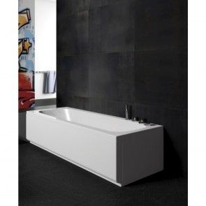 Cada de baie Pop 160 x 70 cm, acril alb, pentru bai mici