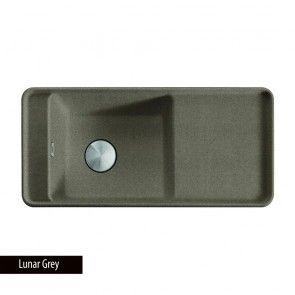 Chiuveta bucatarie Franke STYLE SYG 611 Lunar Grey, granit compozit Fragranit