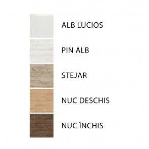 Set complet mobilier baie diverse culori Emily 50 cm