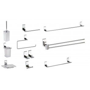 Set de accesorii pentru baie CasaBlanca ELLA