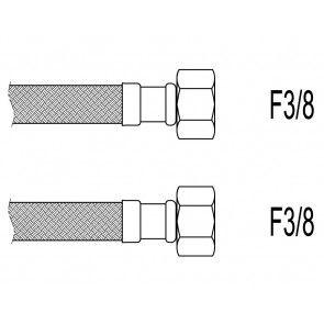 "Racord flexibil apa i-i, 3/8""x 3/8"", 30 cm Techman PWS911"