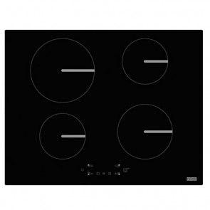 Plita incorporabila cu inductie, 4 zone de gatit Franke Smart FSM 654 I BK, 65 x 51 cm, negru