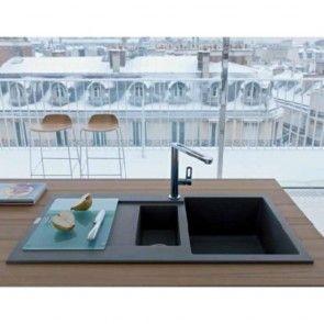 Tocator sticla tratata pentru chiuveta bucatarie Fragranit Franke MARIS
