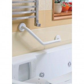 Bara de sustinere pentru baie 50cm, unghi 45 grade Metaform Comfort Line 101314004, alb
