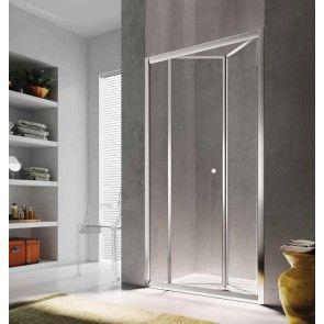Sistem usa pliabila pentru dus in nisa Glass Isy IJ, 80cm