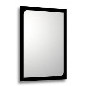 oglinda baie rama printata negru Minho 80x60