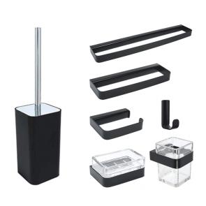 accesorii pentru baie Metaform 25 BLACK, negru mat